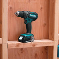 Makita XPH10R 18V Lithium-Ion Compact Variable 2-Speed 1/2 in. Cordless Hammer Drill Driver Kit (2 Ah) image number 6