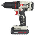 Porter-Cable PCCK604L2-L500BBNDL 20V MAX Cordless Lithium-Ion Drill Driver and Impact Drill Kit with LED Task Light image number 4