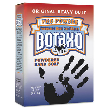 Boraxo 02203CT 10-Piece 5 lbs. Box Powdered Original Hand Soap - Unscented