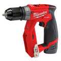 Milwaukee 2505-24-CPO M12 REDLITHIUM CP 1.5 Ah Lithium-Ion Compact Battery (2-Pack) plus Shockwave 15-Piece Tin Kit plus M12 FUEL Lithium-Ion 3/8 in. Cordless Installation Drill image number 3