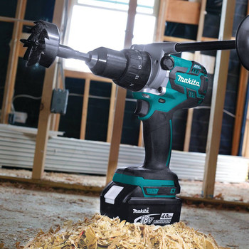 Makita XPH07Z 18V LXT Lithium-Ion Brushless 1/2 in. Cordless Hammer Drill Driver (Tool Only) image number 3