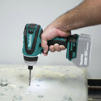 Makita XPT02Z 18V LXT Lithium-Ion Brushless Hybrid 4-Function 1/4 in. Cordless Impact Hammer Drill Driver (Tool Only) image number 9
