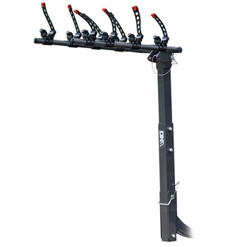 Detail K2 BCR290 Hitch-Mounted 4-Bike Carrier