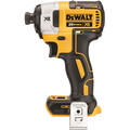 Dewalt DCF887B 20V MAX XR Cordless Lithium-Ion 1/4 in. Brushless 3-Speed Impact Driver (Bare Tool)