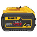 Dewalt DCB609 20V/60V MAX FLEXVOLT 9 Ah Lithium-Ion Battery image number 0
