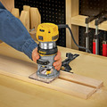 Dewalt DWP611 1-1/4 HP Variable Speed Premium Compact Router with LED image number 7