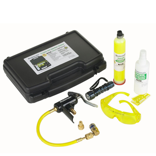 Robinair 16235 UltraViolet Teacker A/C Leak Detection and Injection System Kit image number 0