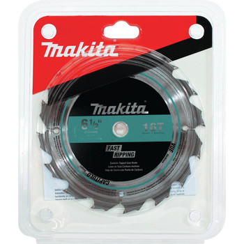 Makita T-01395 6-1/2 in. 16T Carbide-Tipped General Contractor Saw Blade