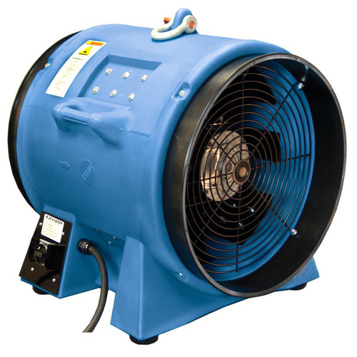Americ VAF8000A-3 13 Amp 20 in. High Capacity Confined Space Ventilator