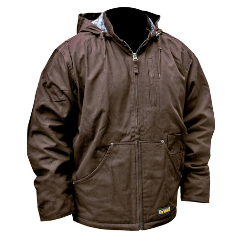 Dewalt DCHJ076ATB-M 20V MAX Li-Ion Heavy Duty Heated Work Coat (Jacket Only) - Medium image number 0