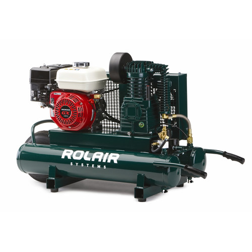 Rolair 4090HK17-0001 9 Gallon 163cc 5.5 HP Portable Belt Drive Air Compressor image number 0