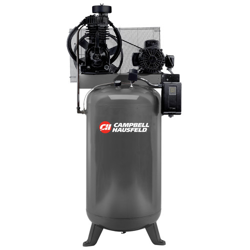 Campbell Hausfeld CE7050 5.0 HP Two-Stage 80 Gallon Oil-Lube Stationary Vertical Air Compressor