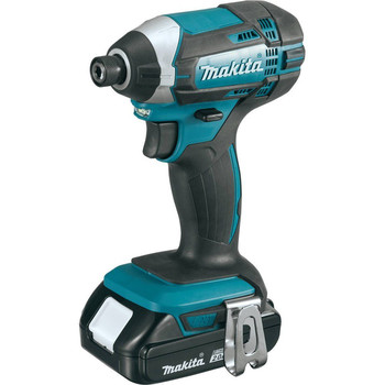 Factory Reconditioned Makita XDT11R-R 18V Compact Lithium-Ion Cordless Impact Driver Kit image number 1