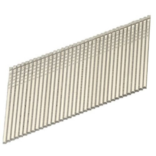 Hitachi 24202S 15-Gauge 1-1/2 in. Electro-Galvanized Angled Finish Nails (1,000-Pack)
