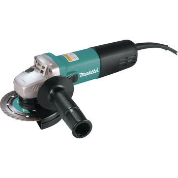 Factory Reconditioned Makita 9557NB-R 7.5 Amp 4-1/2 in. Slide Switch AC/DC Angle Grinder image number 1