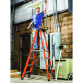 Louisville FXP1808HD 8 ft. Type IAA Duty Rating 375 lbs. Load Capacity Fiberglass Platform Step Ladder image number 2