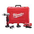 Milwaukee 2432-22XC M12 ProPEX Li-Ion Expansion Tool Kit with 2 XC Batteries