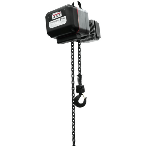 JET VOLT-200-03P-10 2 Ton 3-Phase 460V Electric Chain Hoist with 10 ft. Lift