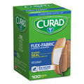 Curad CUR0700RB 100/Box Assorted Sizes Flex Fabric Bandages image number 2