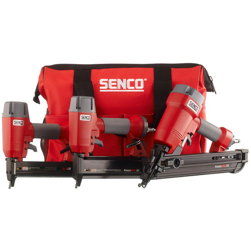 SENCO 1Y0060N FinishPro 3-Tool Nailer and Stapler Combo Kit image number 0