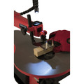 General International BT8007 16 in. 1.2A Variable Speed Scroll Saw with Flex Shaft LED Light image number 1