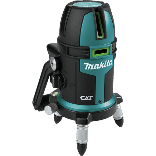 Makita SK209GDZ 12V MAX CXT Lithium-Ion Cordless Self-Leveling Multi-Line/Plumb Point Green Beam Laser (Tool Only) image number 1