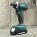 Makita CT225SYX 18V LXT Brushed Lithium-Ion 1/2 in. Cordless Drill Driver/1/4 in. Impact Driver Combo Kit (1.5 Ah) image number 11