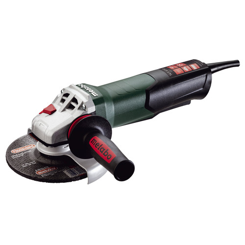 Metabo WEP17-150 Quick 14.5 Amp 6 in. Angle Grinder with TC Electronics and Non-Locking Paddle Switch