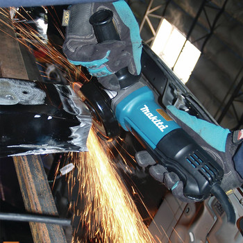 Factory Reconditioned Makita 9557PB-R 4-1/2 in. Paddle Switch AC/DC Angle Grinder image number 3