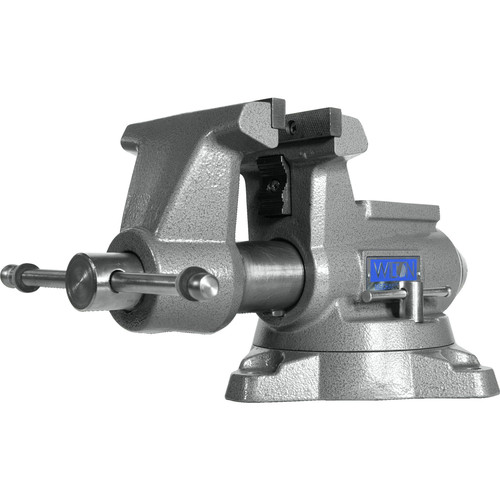 Wilton 28811 855M Mechanics Pro Vise with 5-1/2 in. Jaw Width, 5 in. Jaw Opening and 360-degrees Swivel Base image number 0