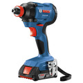 Factory Reconditioned Bosch GDX18V-1600B12-RT 18V 1/4 In. and 1/2 In. Two-In-One Socket-Ready Impact Driver Kit image number 1