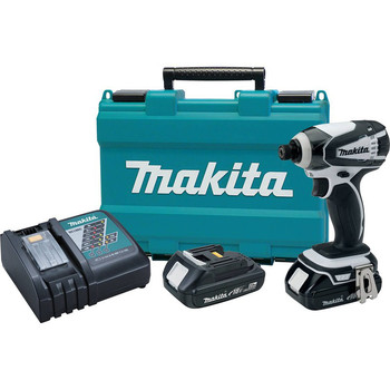 Factory Reconditioned Makita XDT04RW-R 18V LXT 2.0 Ah Cordless Lithium-Ion 1/4 in. Impact Driver Kit image number 0