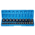 Grey Pneumatic 1726M 26-Piece 1/2 in. Drive 12-Point Metric Standard Impact Socket Set image number 1