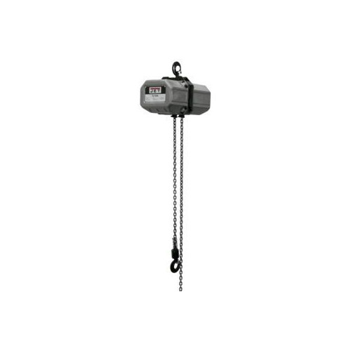 JET 1/2SS-3C-10 1/2 Ton Capacity 10 ft. 3-Phase Electric Chain Hoist image number 0