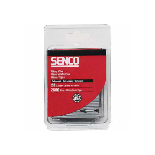 SENCO A101259 23-Gauge 1-1/4 in. Electro-Galvanized Headless Micro Pins (2,600-Pack)