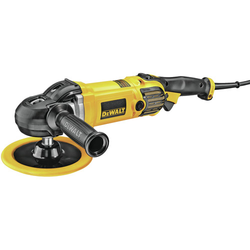Dewalt DWP849X 7 in. / 9 in. Variable Speed Polisher with Soft Start image number 0