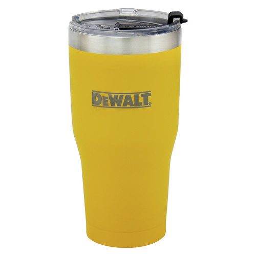 Dewalt DXC30OZTYS 30 oz. Yellow Powder Coated Tumbler image number 0