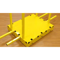 Saw Trax YSD 1,000 lb. Capacity Yel-Low Safety Dolly image number 1
