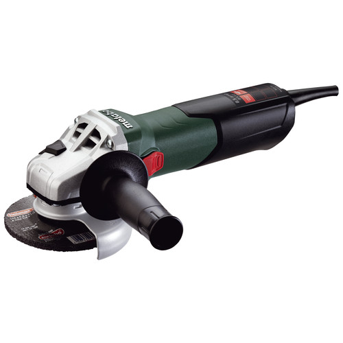 Metabo W9-115 8.5 Amp 4-1/2 in. Angle Grinder with Lock-On Sliding Switch