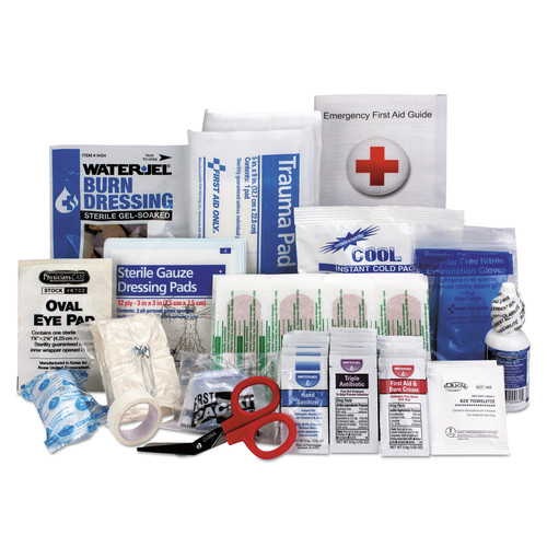 First Aid Only 90583 89-Piece ANSI 2015 Compliant Class A First Aid Kit Refill for 25 People image number 0