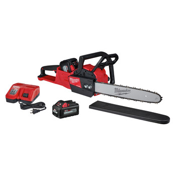 Milwaukee 2727-1865-BNDL M18 FUEL 16 in. Chainsaw Kit and Additional 6 Ah Lithium-Ion Battery