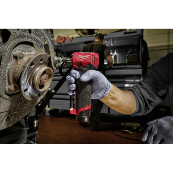 Milwaukee 2485-22 M12 FUEL Lithium-Ion Right Angle Die Grinder Kit (2 Ah) image number 4