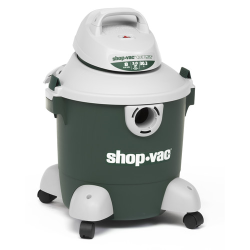 Shop-Vac 5980800 8 Gallon 3.0 Peak HP Quiet Plus Wet/Dry Vacuum