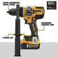 Dewalt DCK2100P2 20V MAX Brushless Cordless 1/2 in. Hammer Drill Driver / Impact Driver Combo Kit (5 Ah) image number 6