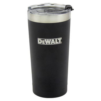 Dewalt DXC20OZTBS 20 oz. Black Powder Coated Tumbler