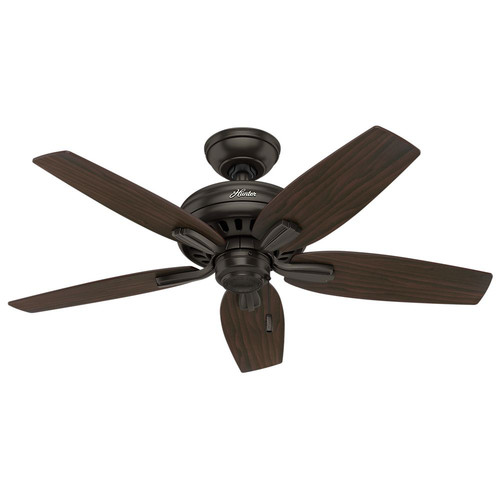 Hunter 51087 42 in. Newsome Premier Bronze Ceiling Fan with Light image number 1