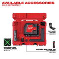 Milwaukee 3521-21 REDLITHIUM USB Rechargeable Green Cross Line Laser image number 7