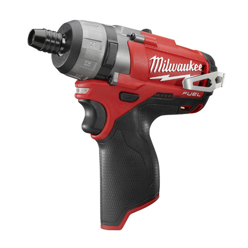 Milwaukee 2402-20 M12 FUEL Lithium-Ion 1/4 in. Hex 2-Speed Screwdriver (Tool Only) image number 0