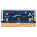 Bosch RBS003 1/2 in. Carbide-Tipped Ogee Door and Cabinetry 3-Piece Router Bit Set image number 1