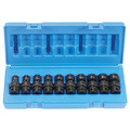 Grey Pneumatic 1210UM 10-Piece 3/8 in. Drive 6-Point Metric Standard Universal Joint Socket Set image number 1